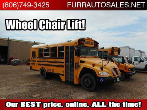 2010 Blue Bird Vision for sale in Lubbock, TX