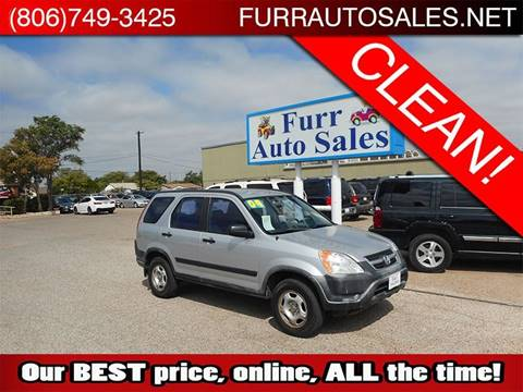 2004 Honda CR-V for sale in Lubbock, TX