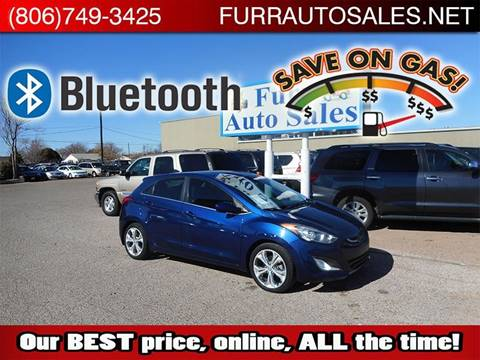 Car Dealerships In Lubbock Tx >> 2013 Hyundai Elantra Gt For Sale In Lubbock Tx