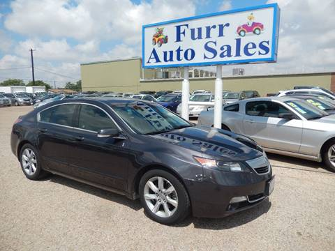 2012 Acura TL for sale in Lubbock, TX