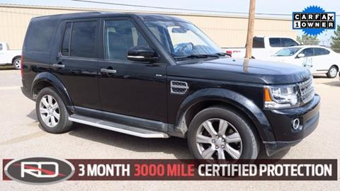 2016 Land Rover LR4 for sale in Lamesa, TX