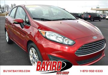 2016 Ford Fiesta for sale at Bayird Pre-Owned Supercenter of Jonesboro in Jonesboro AR