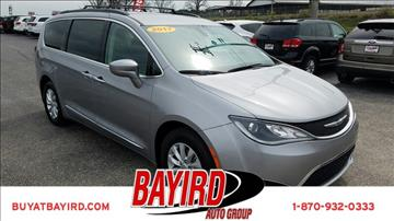 2017 Chrysler Pacifica for sale at Bayird Pre-Owned Supercenter of Jonesboro in Jonesboro AR