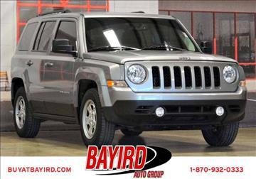 2016 Jeep Patriot for sale at Bayird Pre-Owned Supercenter of Jonesboro in Jonesboro AR