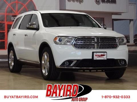 2014 Dodge Durango for sale at Bayird Pre-Owned Supercenter of Jonesboro in Jonesboro AR