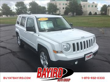 2017 Jeep Patriot for sale at Bayird Pre-Owned Supercenter of Jonesboro in Jonesboro AR