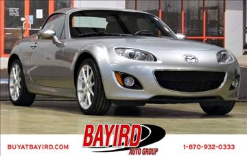 2012 Mazda MX-5 Miata for sale at Bayird Pre-Owned Supercenter of Jonesboro in Jonesboro AR