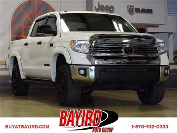 2016 Toyota Tundra for sale at Bayird Pre-Owned Supercenter of Jonesboro in Jonesboro AR