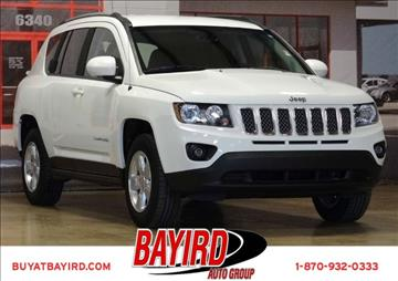 2016 Jeep Compass for sale at Bayird Pre-Owned Supercenter of Jonesboro in Jonesboro AR
