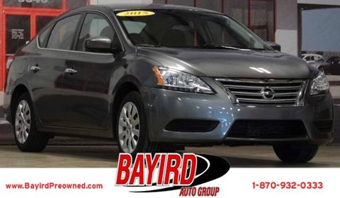 2015 Nissan Sentra for sale at Bayird Pre-Owned Supercenter of Jonesboro in Jonesboro AR
