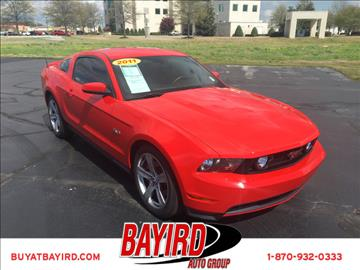 2011 Ford Mustang for sale at Bayird Pre-Owned Supercenter of Jonesboro in Jonesboro AR