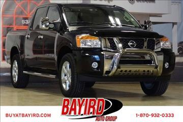 2014 Nissan Titan for sale at Bayird Pre-Owned Supercenter of Jonesboro in Jonesboro AR