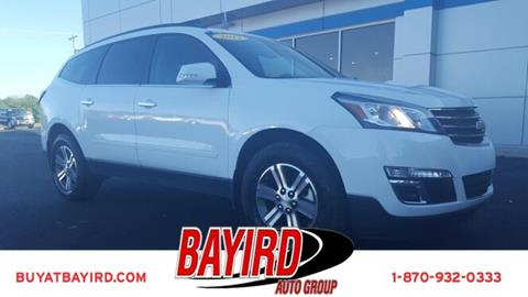 2017 Chevrolet Traverse for sale at Bayird Pre-Owned Supercenter of Jonesboro in Jonesboro AR