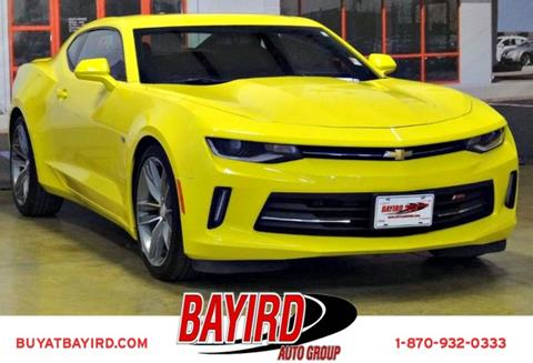 2016 Chevrolet Camaro for sale at Bayird Pre-Owned Supercenter of Jonesboro in Jonesboro AR