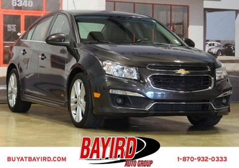 2015 Chevrolet Cruze for sale at Bayird Pre-Owned Supercenter of Jonesboro in Jonesboro AR