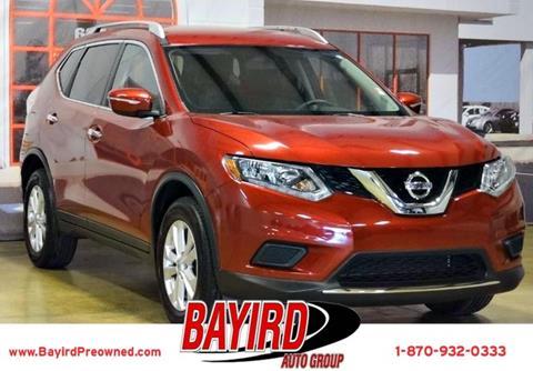 2015 Nissan Rogue for sale at Bayird Pre-Owned Supercenter of Jonesboro in Jonesboro AR