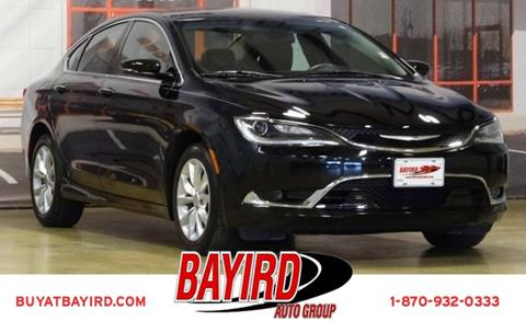 2015 Chrysler 200 for sale at Bayird Pre-Owned Supercenter of Jonesboro in Jonesboro AR