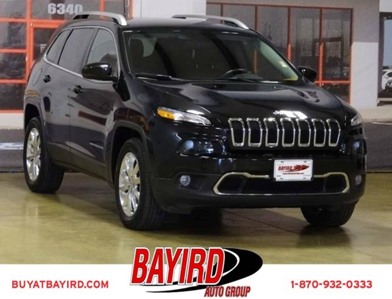 2016 Jeep Cherokee for sale at Bayird Pre-Owned Supercenter of Jonesboro in Jonesboro AR