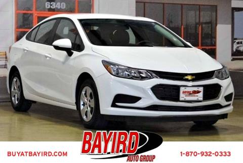 2016 Chevrolet Cruze for sale at Bayird Pre-Owned Supercenter of Jonesboro in Jonesboro AR