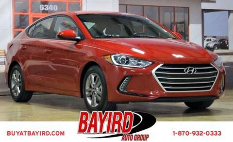 2017 Hyundai Elantra for sale at Bayird Pre-Owned Supercenter of Jonesboro in Jonesboro AR