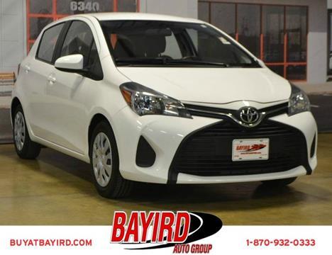 2015 Toyota Yaris for sale at Bayird Pre-Owned Supercenter of Jonesboro in Jonesboro AR
