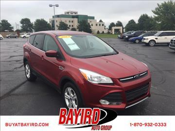2013 Ford Escape for sale at Bayird Pre-Owned Supercenter of Jonesboro in Jonesboro AR