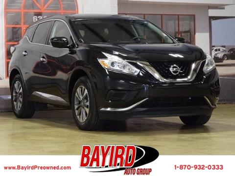 2016 Nissan Murano for sale at Bayird Pre-Owned Supercenter of Jonesboro in Jonesboro AR