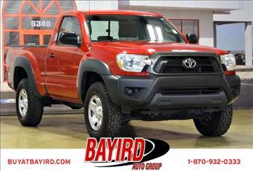 2013 Toyota Tacoma for sale at Bayird Pre-Owned Supercenter of Jonesboro in Jonesboro AR