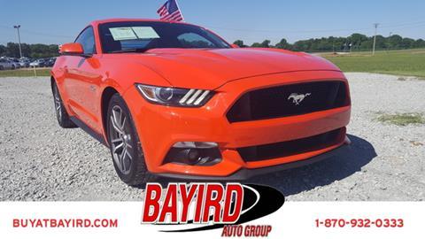 2015 Ford Mustang for sale at Bayird Pre-Owned Supercenter of Jonesboro in Jonesboro AR