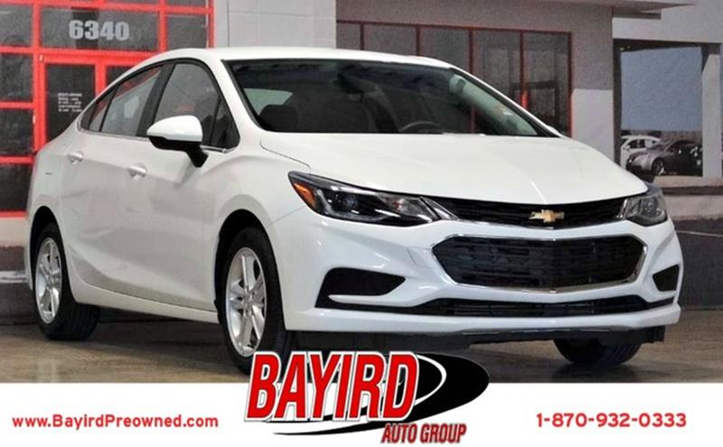 2017 Chevrolet Cruze for sale at Bayird Pre-Owned Supercenter of Jonesboro in Jonesboro AR