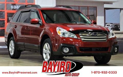 2014 Subaru Outback for sale at Bayird Pre-Owned Supercenter of Jonesboro in Jonesboro AR