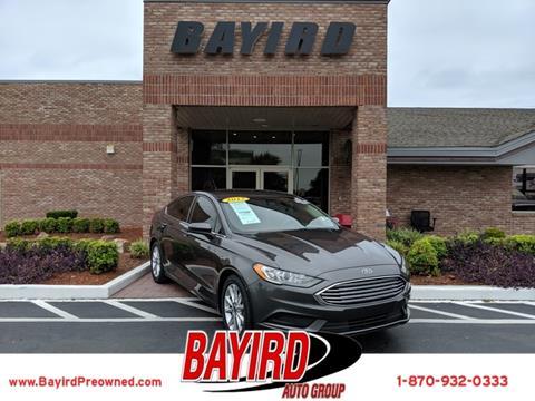 2017 Ford Fusion for sale in Jonesboro, AR