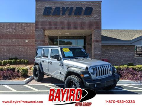 2018 Jeep Wrangler Unlimited for sale in Jonesboro, AR