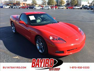 2008 Chevrolet Corvette for sale at Bayird Pre-Owned Supercenter of Jonesboro in Jonesboro AR