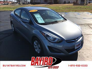 2016 Hyundai Elantra for sale at Bayird Pre-Owned Supercenter of Jonesboro in Jonesboro AR
