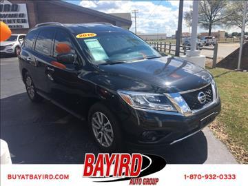 2016 Nissan Pathfinder for sale at Bayird Pre-Owned Supercenter of Jonesboro in Jonesboro AR