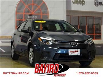 2015 Toyota Corolla for sale at Bayird Pre-Owned Supercenter of Jonesboro in Jonesboro AR