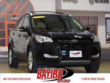 2016 Ford Escape for sale at Bayird Pre-Owned Supercenter of Jonesboro in Jonesboro AR
