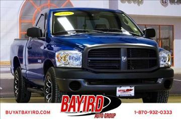 2008 Dodge Ram Pickup 1500 for sale at Bayird Pre-Owned Supercenter of Jonesboro in Jonesboro AR