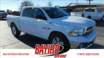 2016 RAM Ram Pickup 1500 for sale at Bayird Pre-Owned Supercenter of Jonesboro in Jonesboro AR