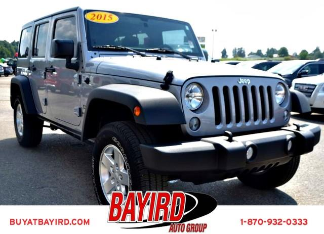 2015 Jeep Wrangler Unlimited for sale at Bayird Pre-Owned Supercenter of Jonesboro in Jonesboro AR