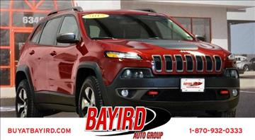 2015 Jeep Cherokee for sale at Bayird Pre-Owned Supercenter of Jonesboro in Jonesboro AR