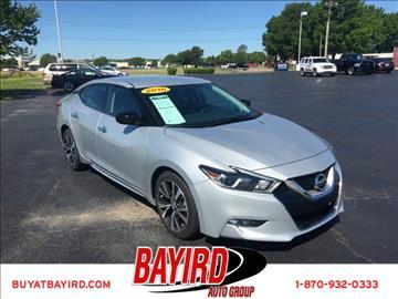 2016 Nissan Maxima for sale at Bayird Pre-Owned Supercenter of Jonesboro in Jonesboro AR