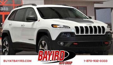 2017 Jeep Cherokee for sale at Bayird Pre-Owned Supercenter of Jonesboro in Jonesboro AR