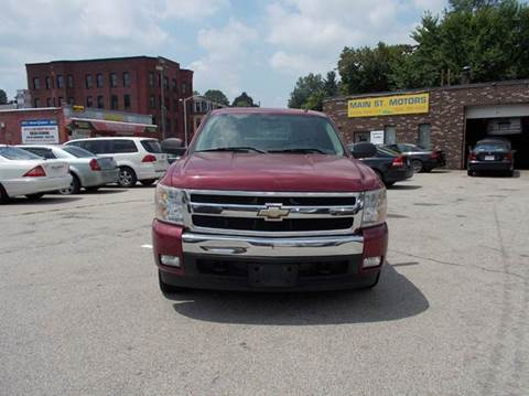 2007 Chevrolet Silverado 1500 for sale at MAIN STREET MOTORS in Worcester MA