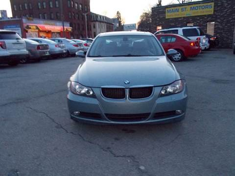 2007 BMW 3 Series for sale at MAIN STREET MOTORS in Worcester MA