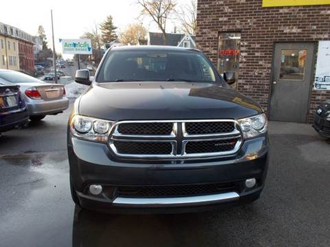 2011 Dodge Durango for sale at MAIN STREET MOTORS in Worcester MA