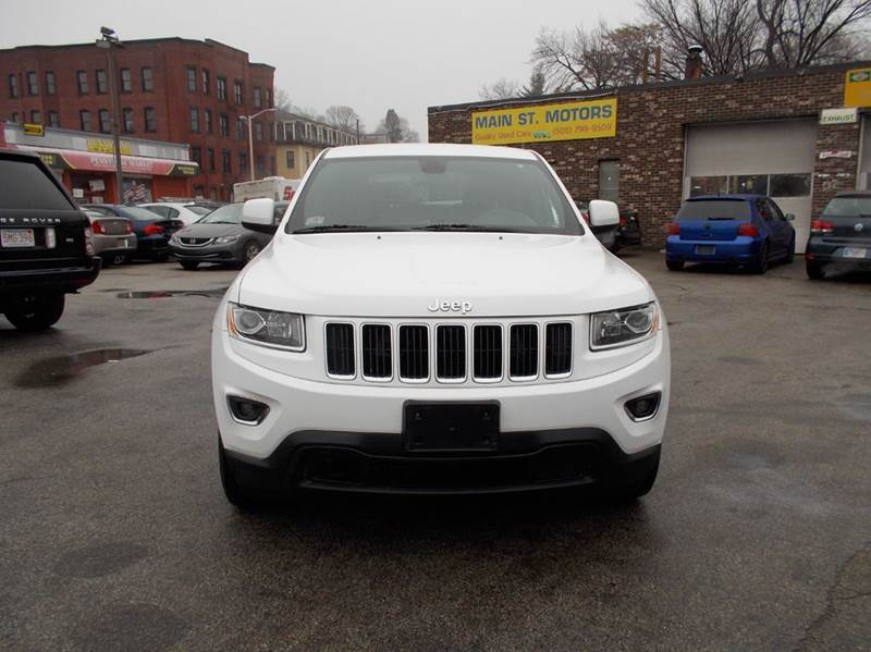 2014 Jeep Grand Cherokee for sale at MAIN STREET MOTORS in Worcester MA