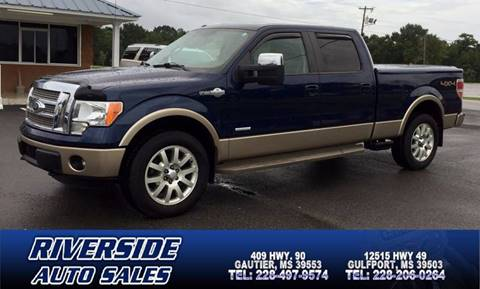 2012 Ford F-150 for sale in Gautier, MS