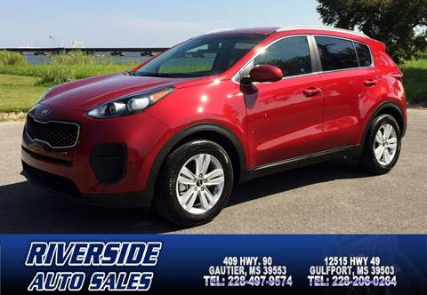 2017 Kia Sportage for sale in Gautier, MS